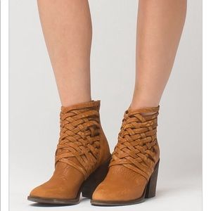 Free people brown Carrera boots 36